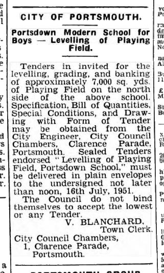 portsdown3-7-1951news